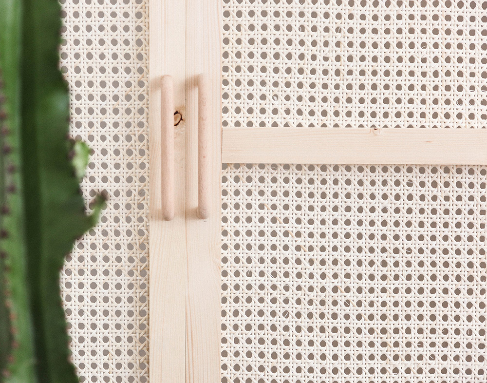 DIY Armario con puertas de rejilla · DIY Cannage woven doors · Fábrica de Imaginación · Tutorial in Spanish