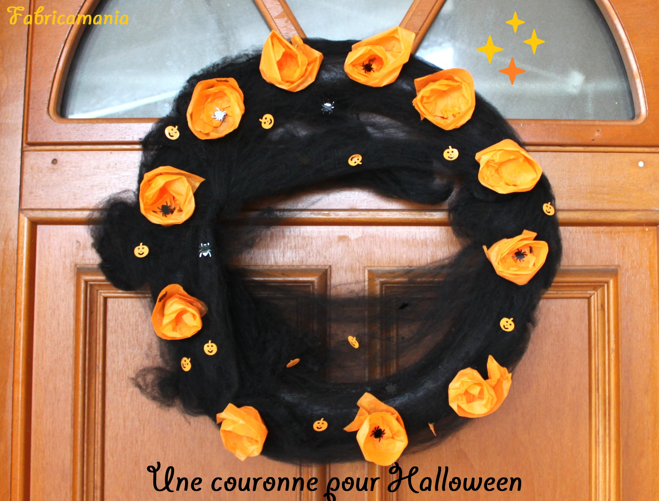 Couronne Halloween Eco Chic Diy Halloween Funeral Wreath How To Make A