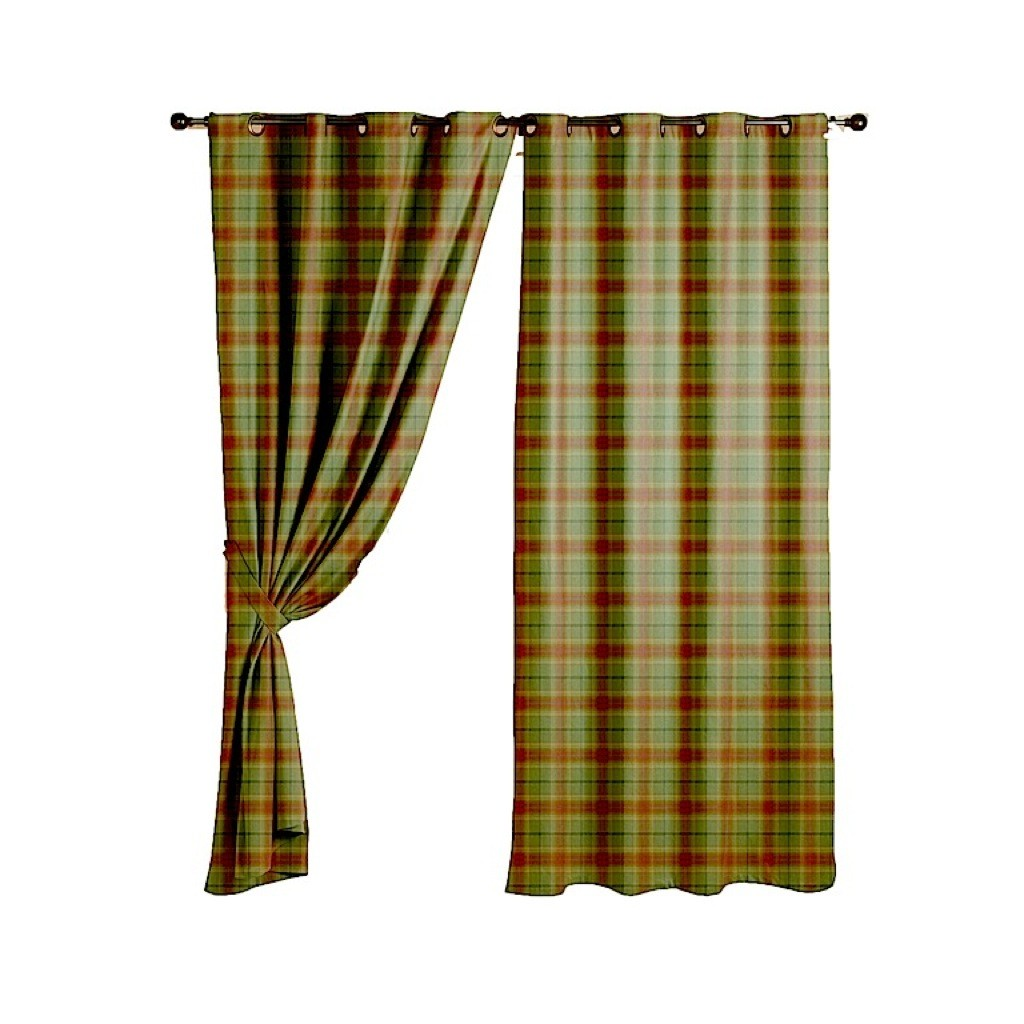 Red And Green Curtains Green Plaid Curtains Uk Curtain Menzilperde Net