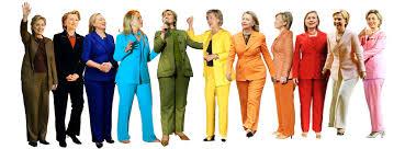Rainbow pant suits