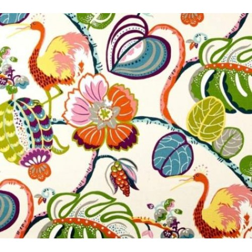 Tropical Home Decor Fabric Coordinated