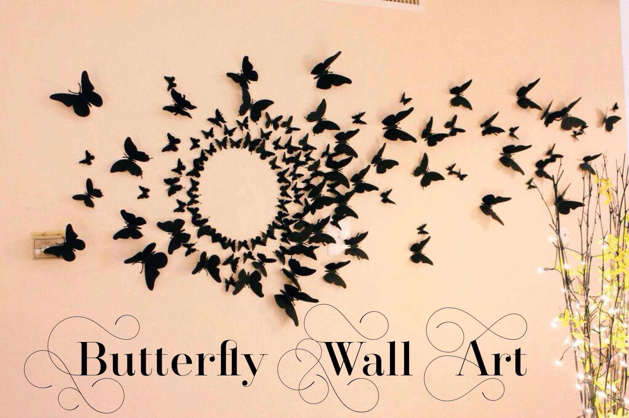 Fullsize Of Butterfly Wall Decor
