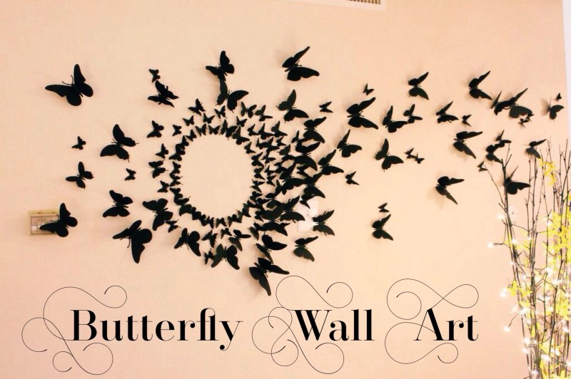 Large Of Butterfly Wall Decor