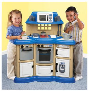 American Plastics Homestyle Kitchen Play Set Only $34!