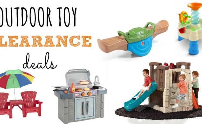 Outdoor Toy Clearance Deals