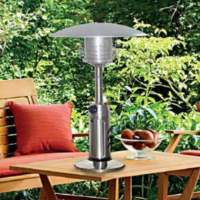 AZ Patio Heaters Portable Table Top Stainless Steel Patio ...