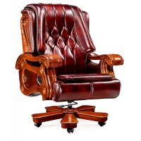 CEO LEATHER OFFICE RECLINER CHAIR