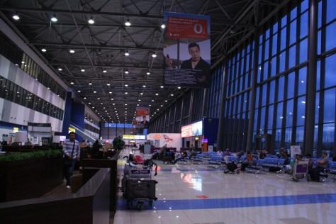 Vladivostok Airport - Arrivals Area
