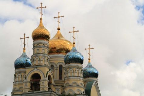 Orthodox Church domes, Vladivostok