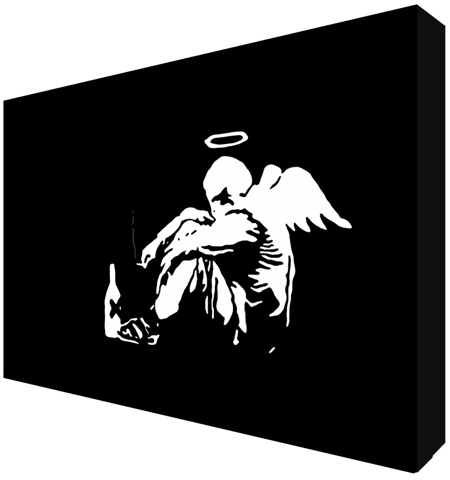 Banksy Canvas Art Banksy Fallen Angel Canvas Art Choose Your Size Ready To Hang Free P P