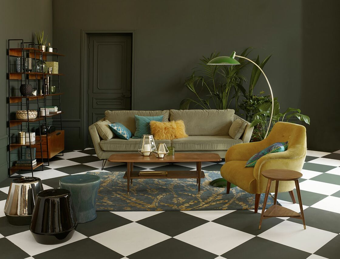 Deco Salon Chic | Deco Salon Moderne Chic Beau Plan De Interieur Maison