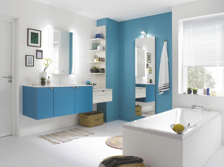 Salle de bains  les couleurs tendance  Femme Actuelle Le MAG