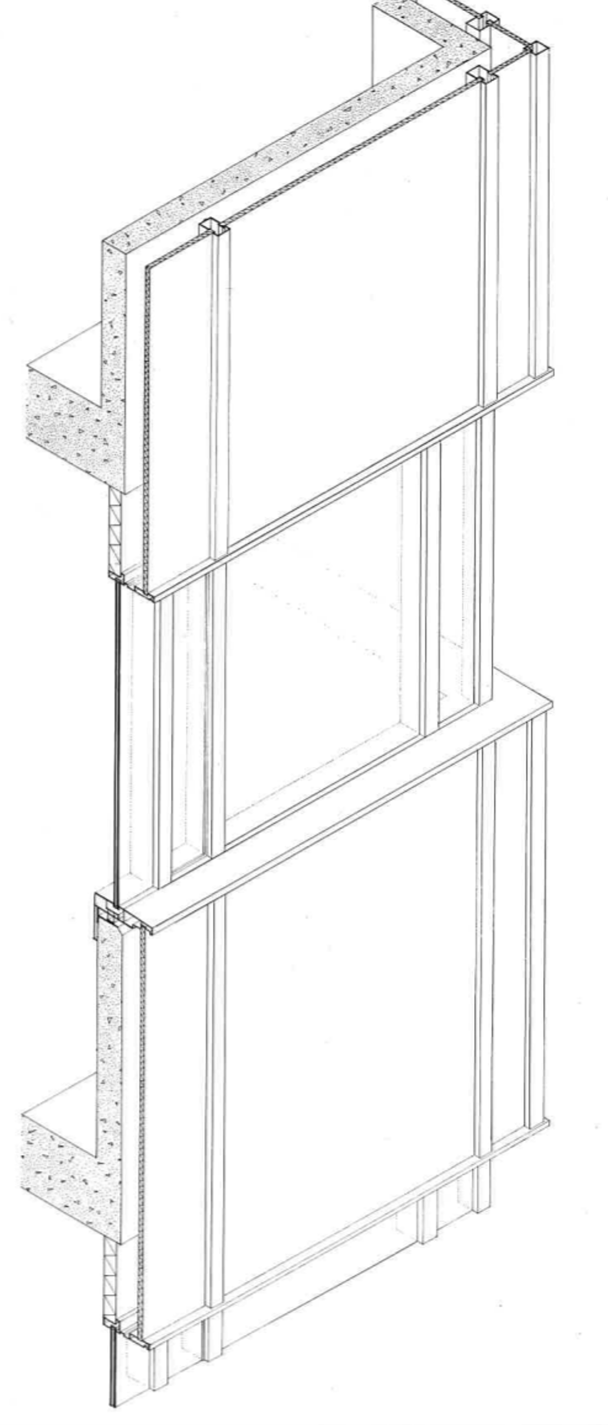 Acoustic Curtain Wall The Curtain Wall Either A Finishing Or A Support 046 Facad3s