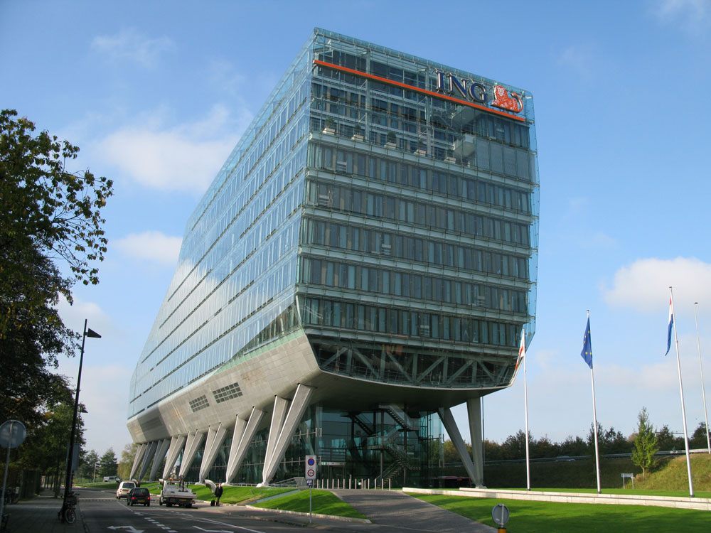 Used Products Delft Ing Bank Headquarters | Facadeworld