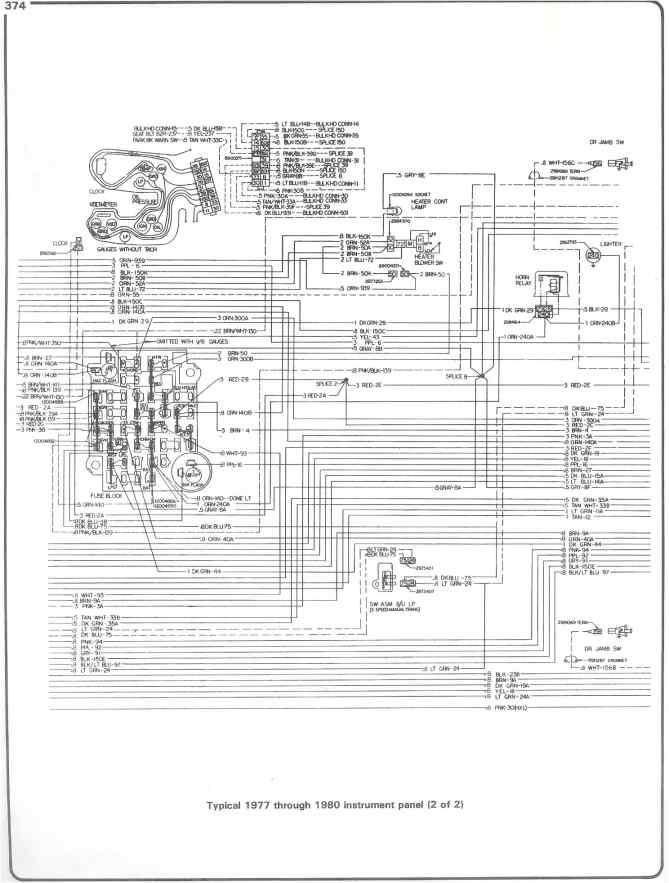 1982 chevy truck starter wiring