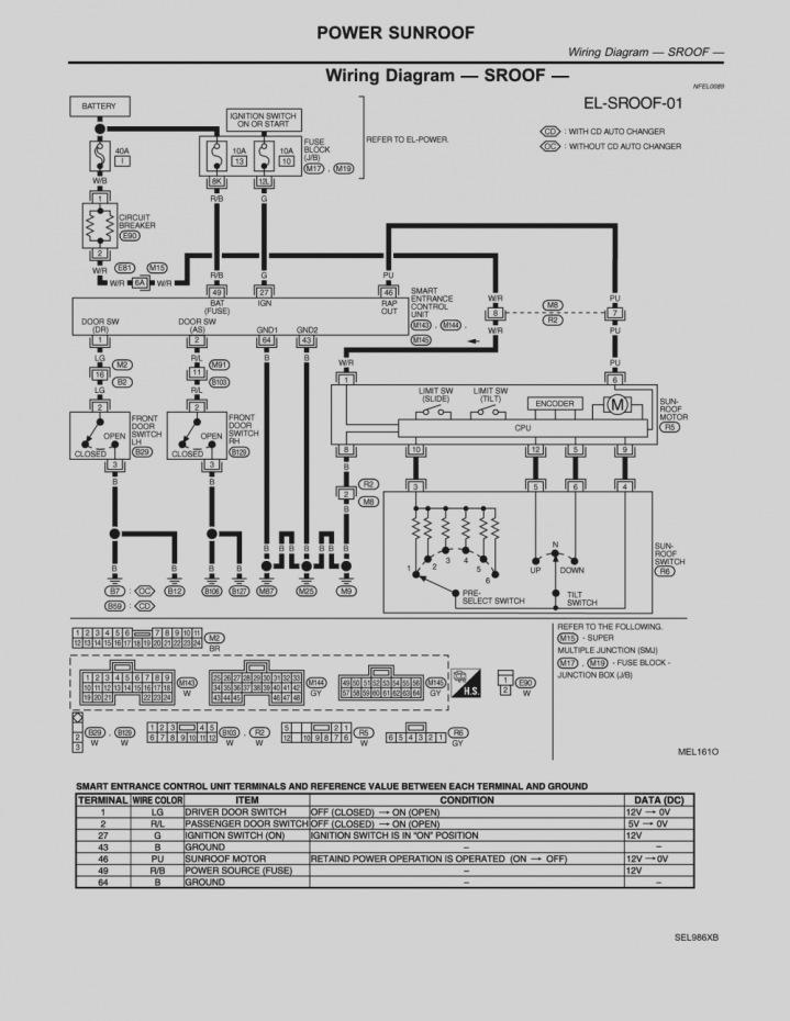 2006 nissan sentra radio wiring diagram