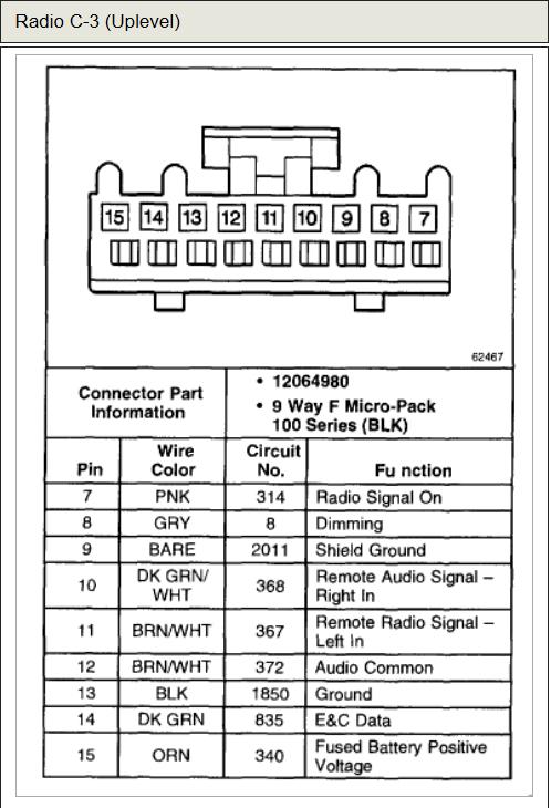 2002 Chevy Tahoe Radio Wiring Diagram Sample Wiring Diagram Sample