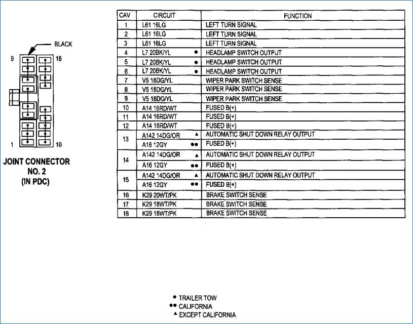 2003 Dakota Stereo Wiring Harness Diagram Wiring Diagram