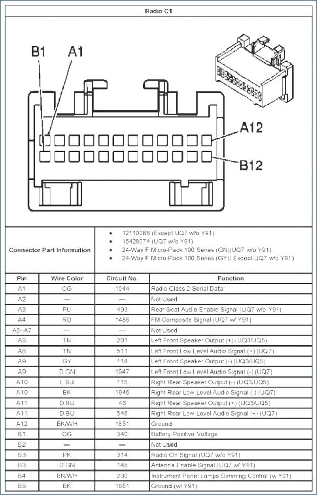 2004 Silverado Bose Radio Wiring Diagram Sample Wiring Diagram Sample