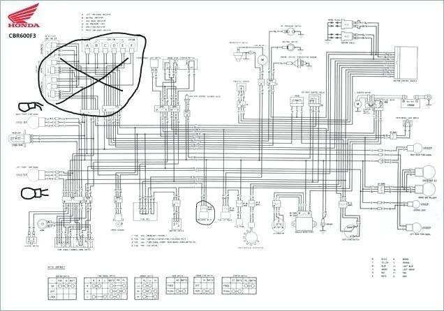 2006 cbr 600 wiring diagram