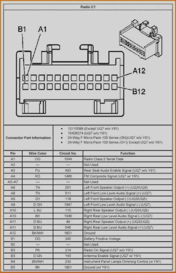 2006 Pontiac Grand Prix Radio Wiring Diagram Sample Wiring Diagram