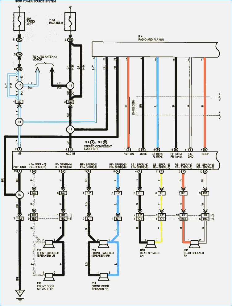 2013 Toyota Tacoma Radio Wiring Wiring Diagram