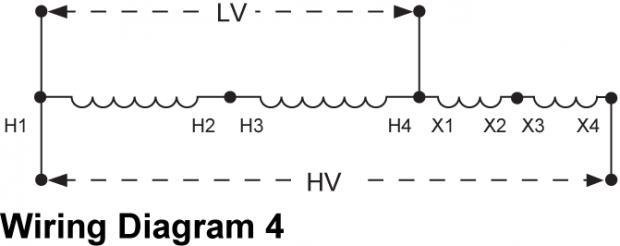 Transformer Wiring Diagram Single Phase Schematic Diagram