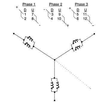 3 Phase Motor Wiring Diagram 9 Leads Gallery Wiring Diagram Sample