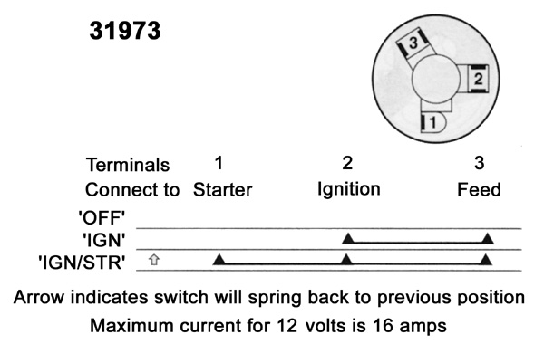 3 Position Ignition Switch Wiring Diagram Collection Wiring