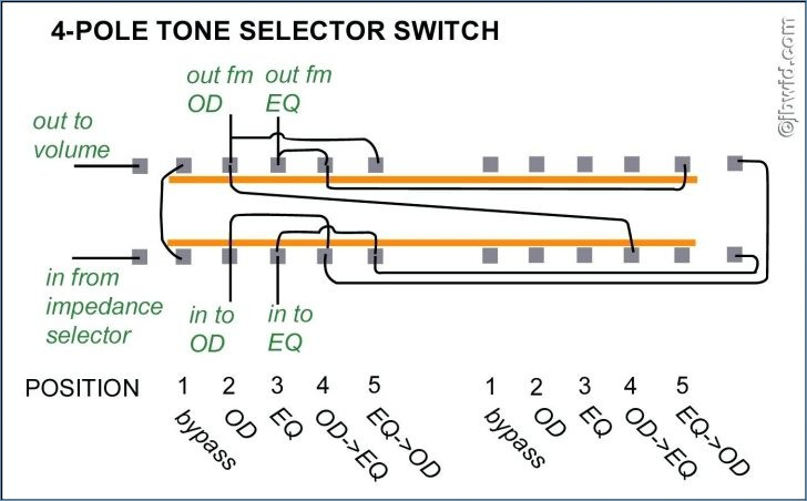 4 Position Selector Switch Wiring Diagram Collection Wiring
