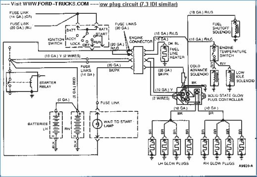 73 Powerstroke Wiring Diagram Wiring Diagram