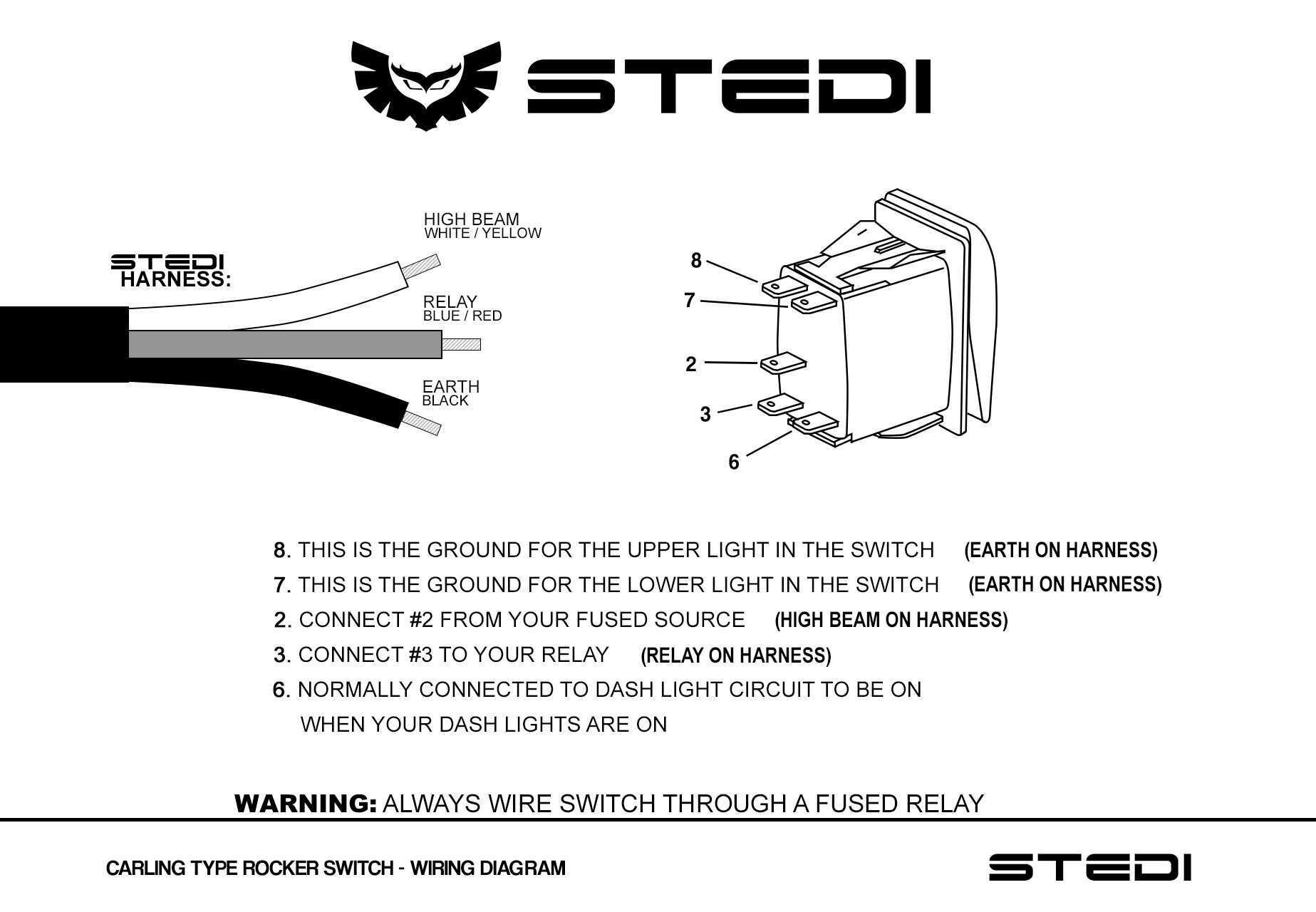 Arb Headlight Wiring Loom Diagram | Wiring Diagram on