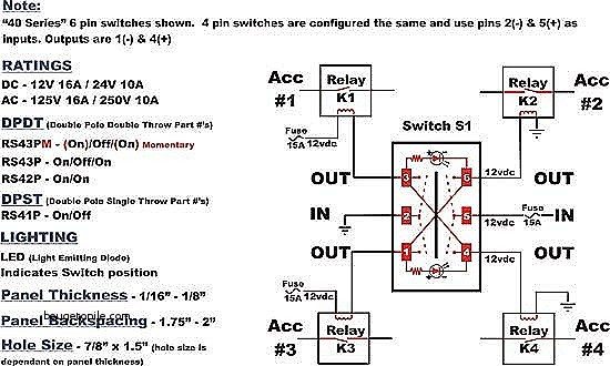 6 Pin toggle Switch Wiring Diagram Collection Wiring Diagram Sample