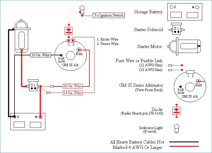 10 Si Alt Wiring Acdelco Diagram - Wwwcaseistore \u2022