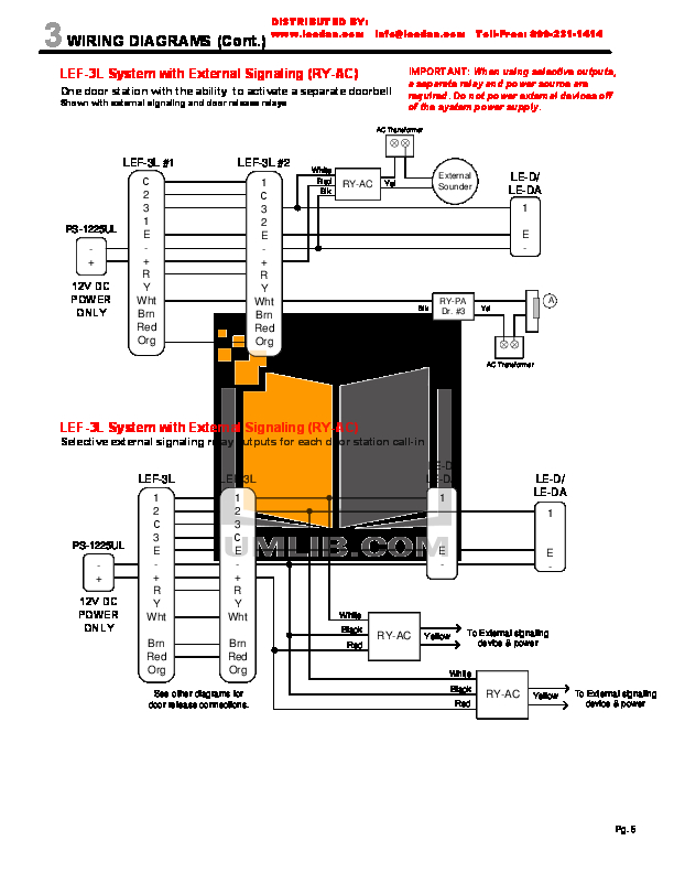 AiPhone Lef 3l Wiring Diagram Collection Wiring Diagram Sample