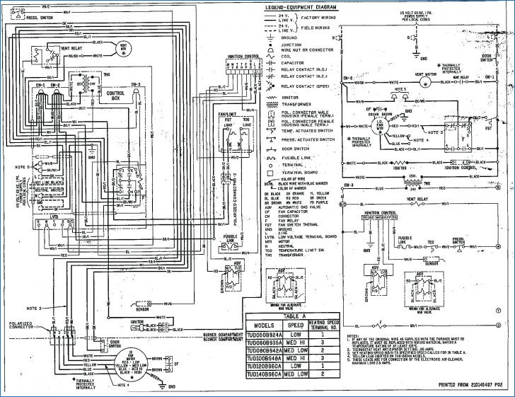 carrier furnace control board wiring