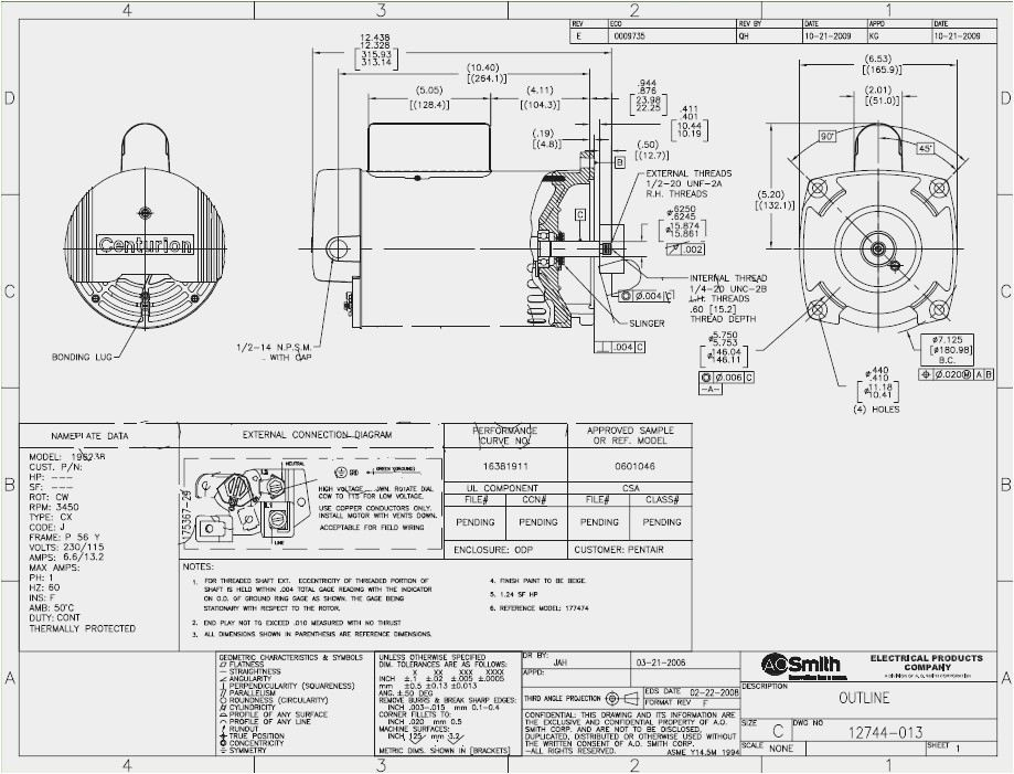Ao Smith 2 Speed Motor Wiring Diagram Collection Wiring Diagram Sample