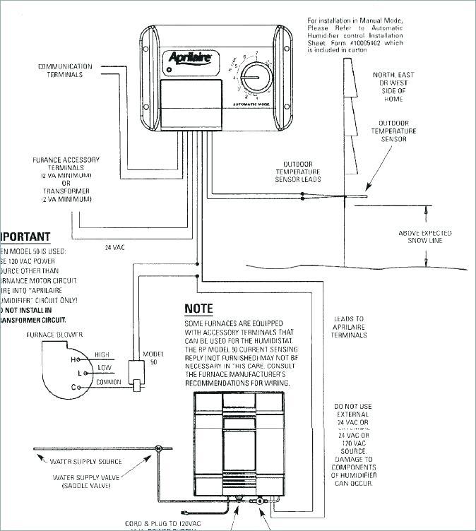 Aprilaire Model 600 Wiring Diagram circuit diagram template