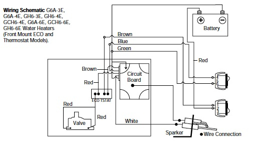 wiring diagram on wiring diagram for atwood water heater switch