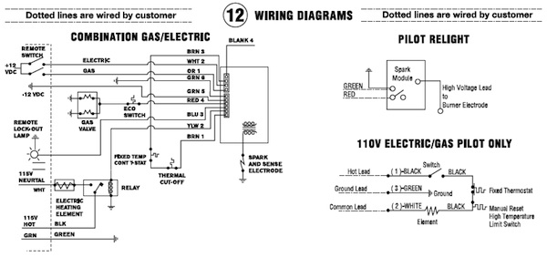 Atwood Water Heater Switch Wiring Diagram Gallery Wiring Diagram