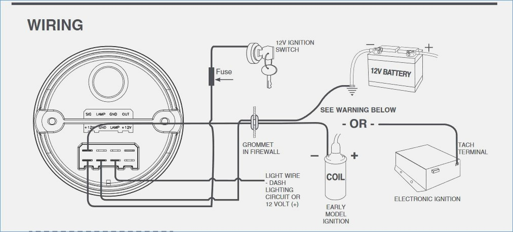 diesel tachometer wiring diagrams