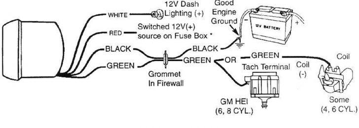 Autometer Tach Wiring Diagram Sample Wiring Diagram Sample