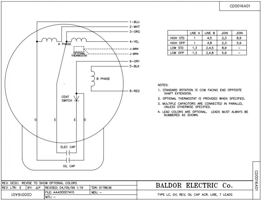 Baldor Single Phase Motor Wiring Further Motor Start Capacitor