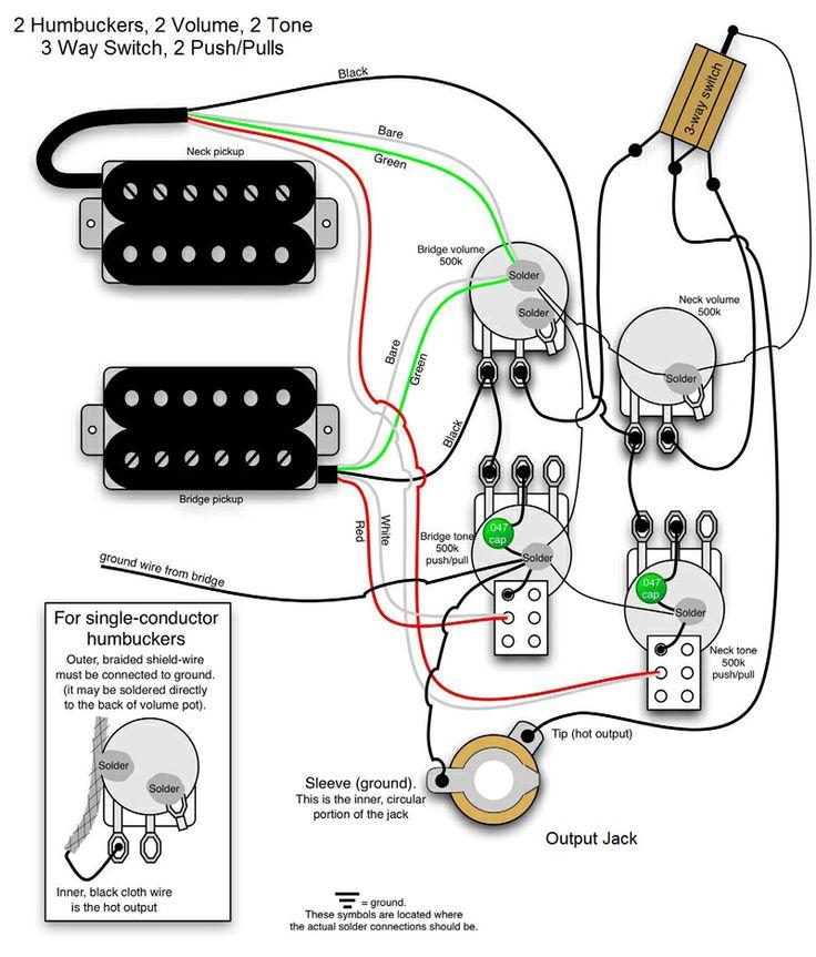 Bass Wiring Diagram 2 Volume 2 tone Gallery Wiring Diagram Sample