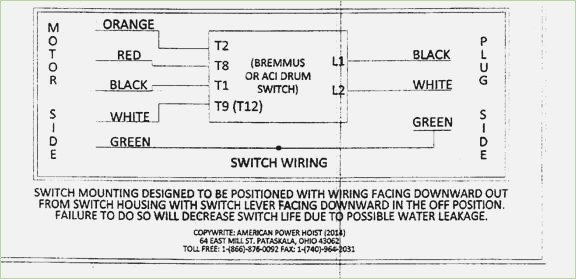 Aci Drum Switch Wiring Wiring Diagram