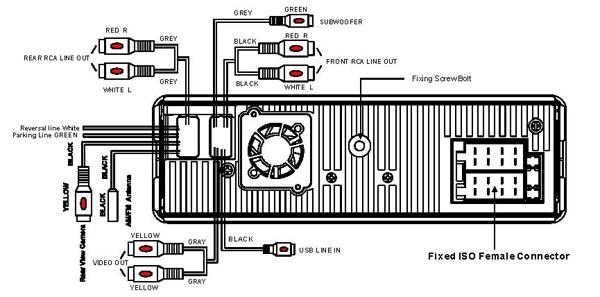 boss audio amp wiring diagram