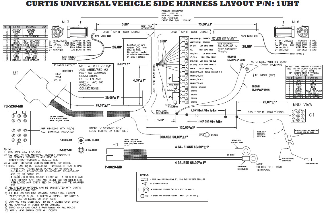 Fisher Plow 11 Pin Wire Harness Diagram | Wiring Schematic Diagram on meyer snow plow parts diagram, boss snow plow lights, fisher plow relay diagram, boss snow plow control stick, boss snow plow bracket manuals, 99 f250 trailer harness diagram, western plow diagram, boss snow plow parts, boss plow solenoid,
