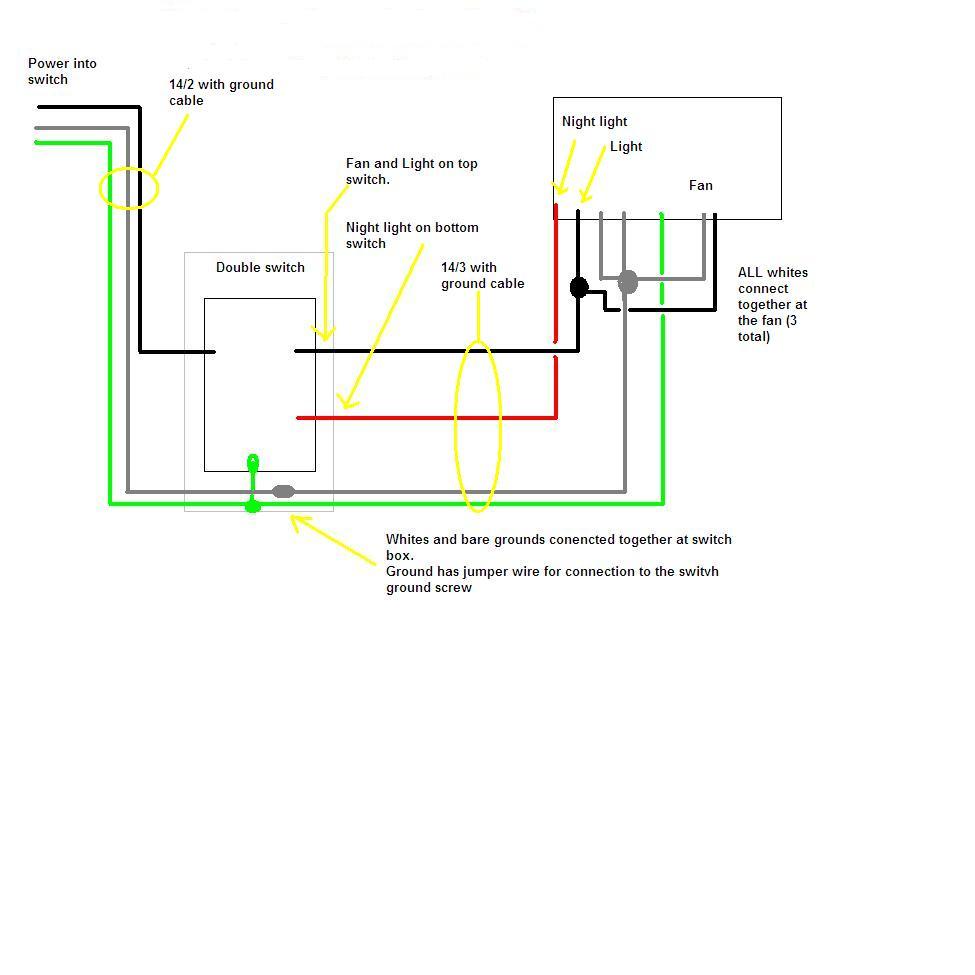 broan fan wire diagram