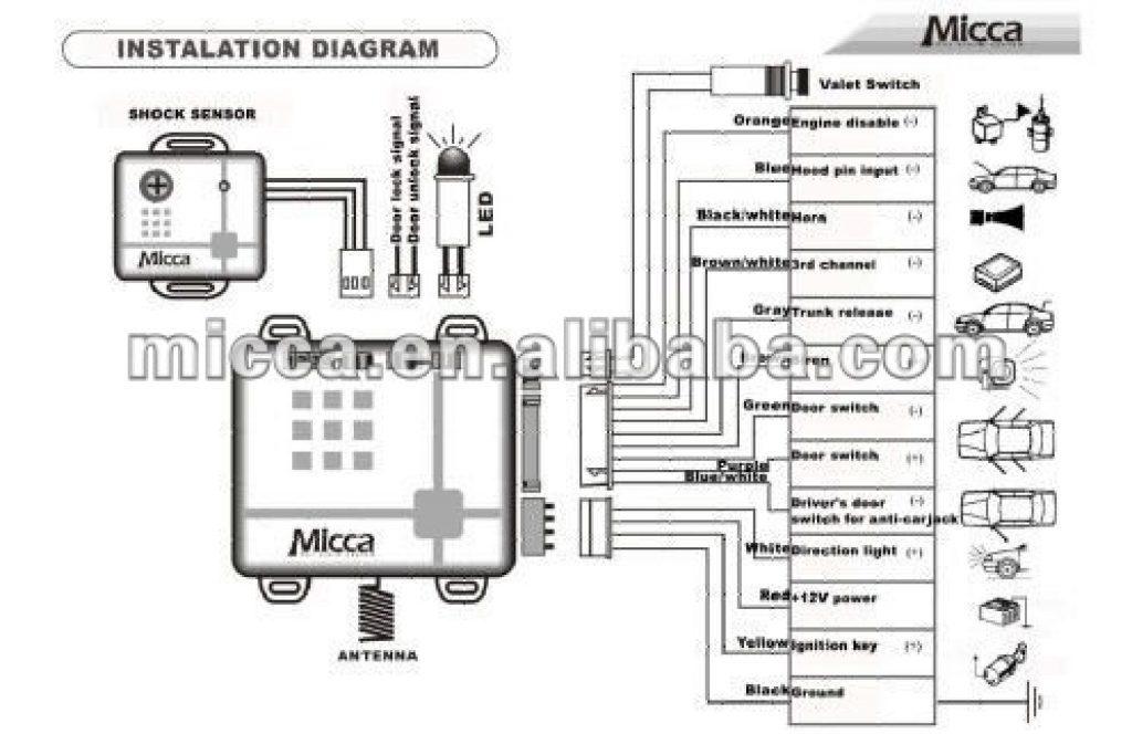 Car Alarm Installation Wiring Diagram Collection Wiring Diagram Sample