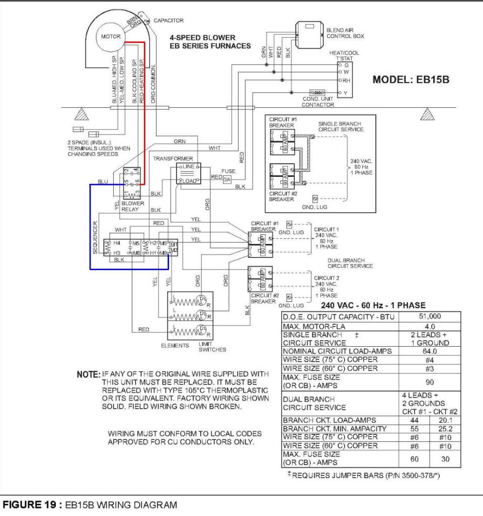 central electric furnace eb12b wiring diagram